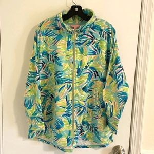 Lilly Pulitzer zip jacket, size L (could fit XL)